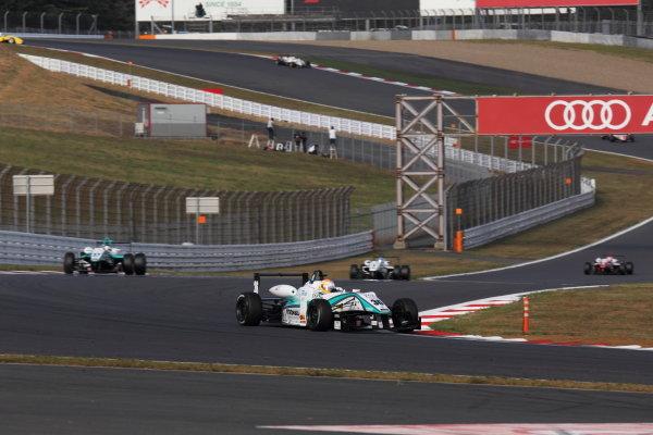 Rd 14 - 15. Fuji Speedway, Japan. 13th - 14th October 2012. Rd 14 - Winner Yuichi Nakayama ( #36 PETRONAS TEAM TOM'S ) World Copyright: Yasushi Ishihara/LAT Photographic ref: Digital Image 2012JF3_Rd14_002