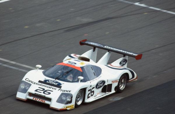 1983 Le Mans 24 hours. Le Mans, France. 18-19 June 1983. Jean Rondeau/Alain Ferte (Rondeau M482), retired, action. World Copyright: LAT Photographic. Ref:  83LM