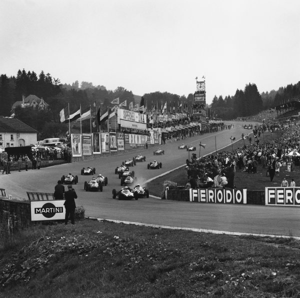 Spa-Francorchamps, Belgium. 19th June 1960.