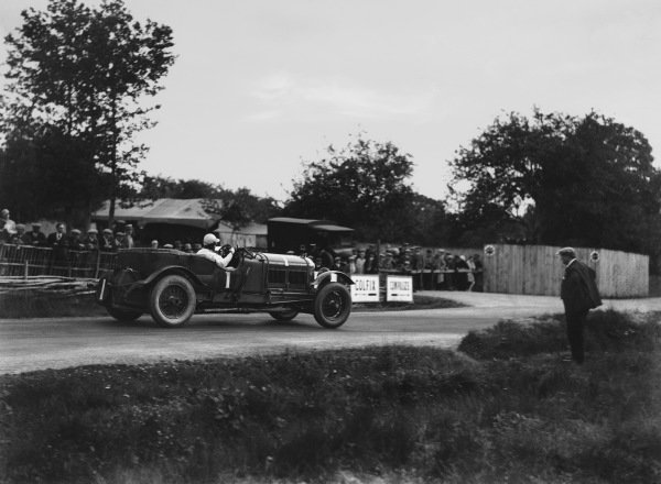 """Le Mans, France. 15th - 16th June 1929.Woolf Barnato/Henry """"Tim"""" Birkin (Bentley Speed Six), 1st position, action. Ref: B2080.World Copyright: LAT Photographic."""