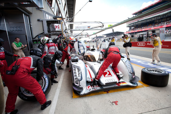 Circuit de La Sarthe, Le Mans, France. 13th - 17th June 2012. 