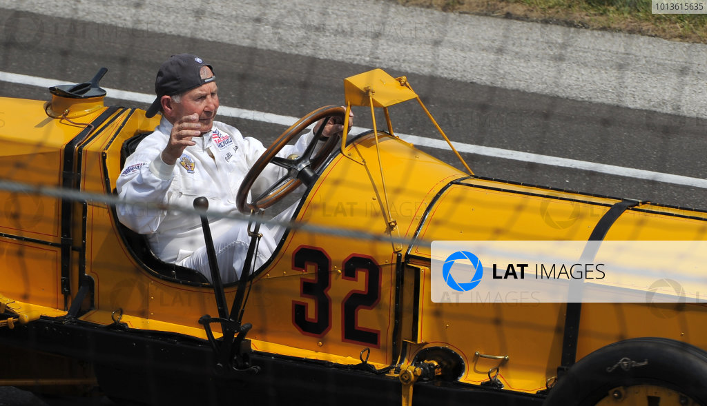 29  May 2011, Indianapolis, Indiana USAP. Jones in the Marmon Wasp. The first car winner of the Indy 500©2011 Dan R. Boyd Lat Photo USA