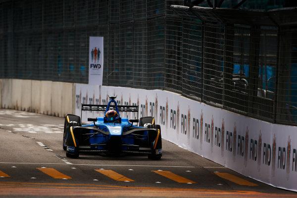 Suzuka Circuit, Japan. Sunday 09 October 2016. Sebastien Buemi (9, Renault e.dams). World Copyright: Zak Mauger/LAT Photographic ref: Digital Image _L0U0858