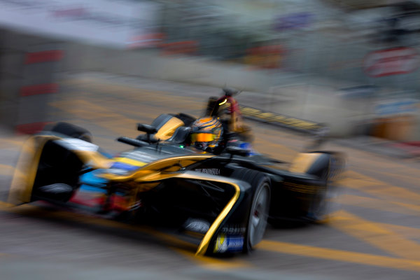 2016/2017 FIA Formula E Championship. Hong Kong ePrix, Hong Kong, China. Saturday 8 October 2016. Ma Qing Hau (CHN), Techeetah, Spark-Renault, Renault Z.E 16.  Photo: Alastair Staley/LAT/Formula E ref: Digital Image 585A9421