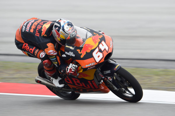 2017 Moto3 Championship - Round 17 Sepang, Malaysia. Friday 27 October 2017 Bo Bendsneyder, Red Bull KTM Ajo World Copyright: Gold and Goose / LAT Images ref: Digital Image 25054
