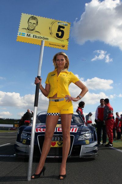 DTM grid girls.