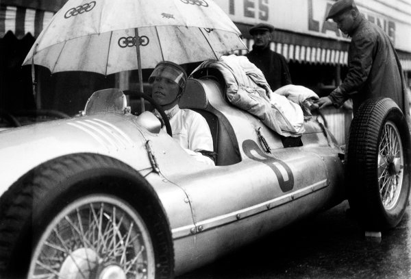 Spa-Francorchamps, Belgium. 26th June 1939.Georg Meier (Auto Union D), retired, portrait. World Copyright: LAT Photographic.Ref:  39BELRF
