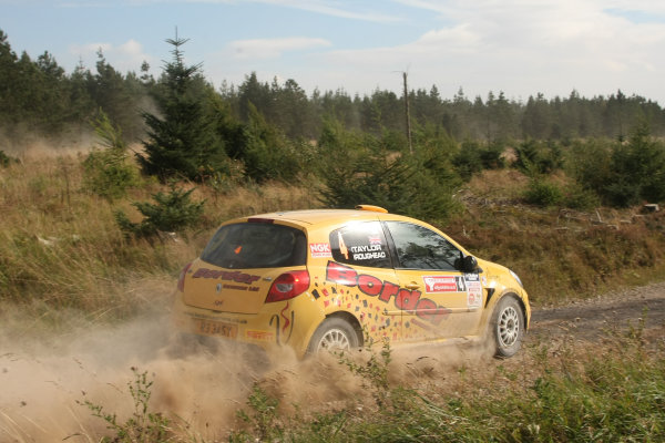 Rally Yorkshire, Scarborough, 23rd-24th September 2011Peter Taylor/Andrew Roughead - Renault Clio