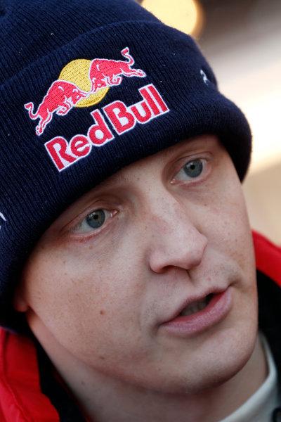 Round 02 - Rally Sweden 09-12 February 2012. Mikko Hirvonen, Citroen WRC, Portrait  Worldwide Copyright: McKlein/LAT