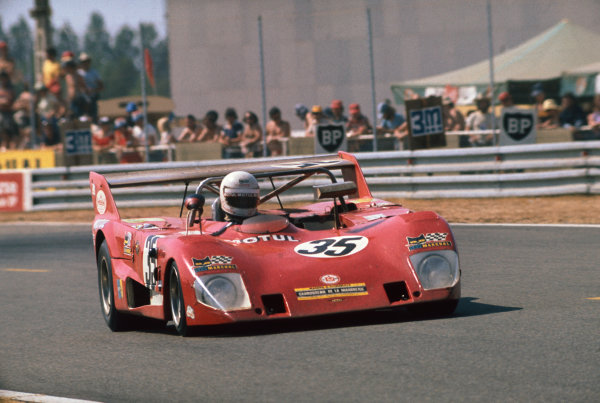 Le Mans, France. 12 - 13 June 1976 Georges Morand/Franois Trisconi/AndrŽ Chevalley (Lola T292 Ford), 15th position, action. World Copyright: LAT PhotographicRef: 76LM45.