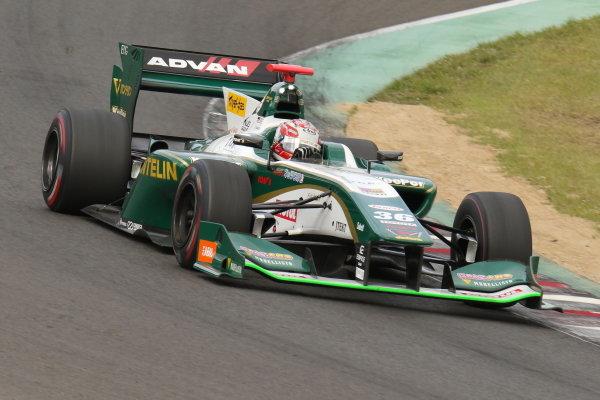 Kazuki Nakajima, number 36 VANTELIN KOWA TOM'S SF14 Toyota, , third position, position.