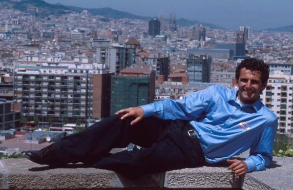 Pedro De la Rosa relaxing at home in Barcelona.Formula One Drivers At Home
