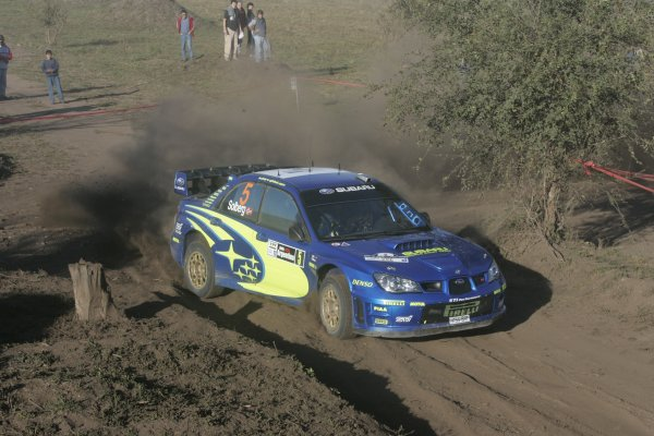 2006 FIA World Rally Champs. Round 6Rally Argentina. 27th-30th April 2006Petter Solberg, Subaru, action.World Copyright: McKlein/LAT