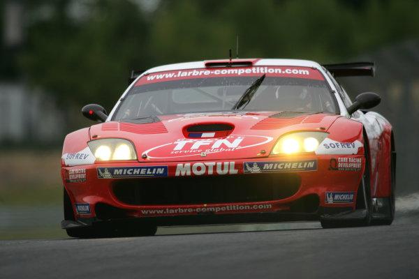2005 Le Mans Test Day5th June 2005Le Mans, FranceLarbre Competition (FRA, Ferrari 550 Maranello ) Action. World Copyright: Glenn Dunbar / LAT PhotographicDigital Image Only