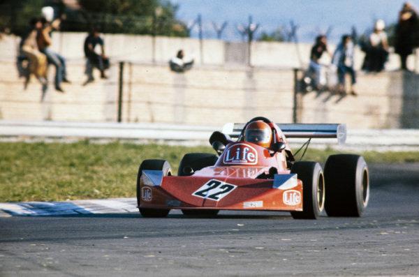 """""""Gimax"""" (Carlo Franchi), March 752 BMW."""