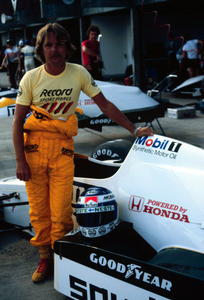 1984 Brazilian Grand Prix.Jacarepagua, Rio de Janeiro, Brazil.23-25 March 1984.Keke Rosberg (Williams FW09 Honda).World Copyright - LAT Photographic