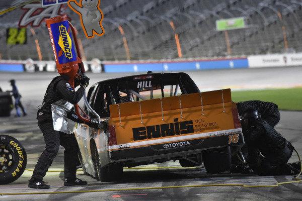 #16: Austin Hill, Hattori Racing Enterprises, Toyota Tundra Ennis Steel