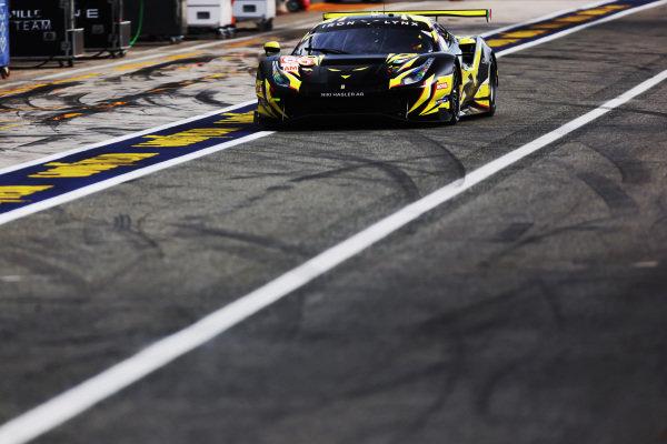 #60 Iron Lynx Ferrari 488 GTE EVO: Claudio Schiavoni, Andrea Piccini, Matteo Cressoni
