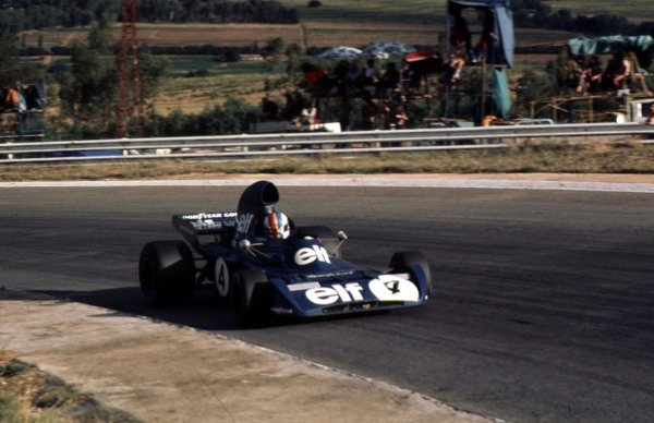 1973 South African Grand Prix.Kyalami, South Africa.1-3 March 1973.Francois Cevert (Tyrrell 005 Ford).Ref-73 SA 02.World Copyright - LAT Photographic