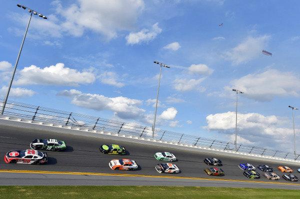 #20: Christopher Bell, Joe Gibbs Racing, Toyota Supra Rheem and #19: Brandon Jones, Joe Gibbs Racing, Toyota Supra Juniper