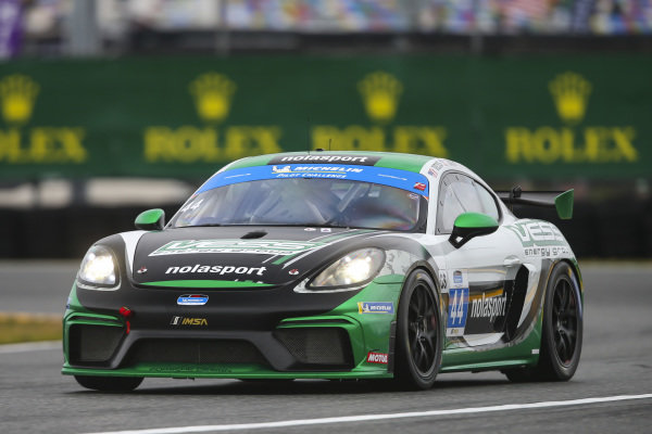 #44 nolasport Porsche Cayman GT4 MR, GS: Mike Vess, Matt Travis, Jason Hart