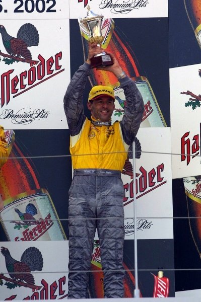 Alain Menu (SUI) finished in 3rd place.German Touring Car Championship, Sachsenring, Germany, 2 June 2002DIGITAL IMAGE
