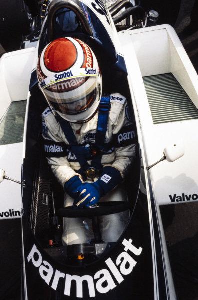 Nelson Piquet, Brabham BT50 BMW.