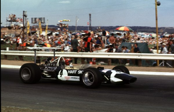 1969 South African Grand Prix.Kyalami, South Africa.27/2-1/3 1969.Jo Siffert (Lotus 49B Ford) 4th position.Ref-69 SA 03.World Copyright - LAT Photographic