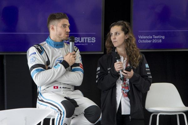 Driver Q&A with Edoardo Mortara (CHE) Venturi Formula E, Venturi VFE05