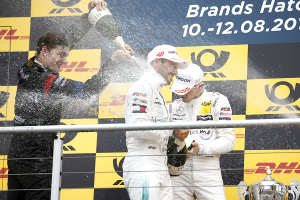 Podium: Paul Di Resta, Mercedes-AMG Team HWA and Gary Paffett, Mercedes-AMG Team HWA.