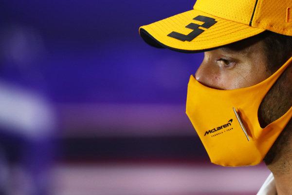 Daniel Ricciardo, McLaren in the Press Conference
