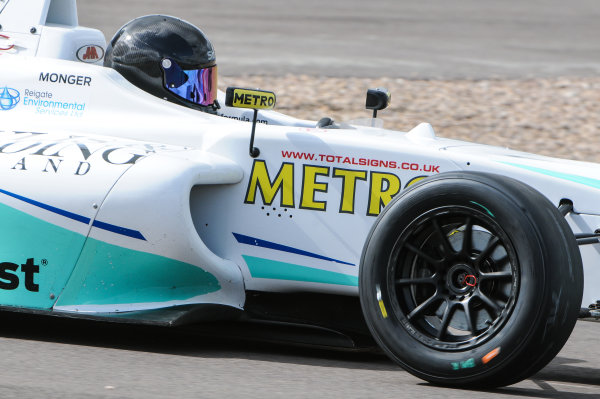 2016 MSA Formula Donington Park, 16th-17th April 2016, Billy Monger (GBR) JHR Developments MSA Formula  World copyright. Jakob Ebrey/LAT Photographic