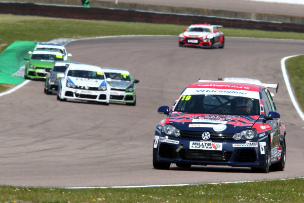 2017 VW Cup Rockingham, England. 29th-30th April 2017, Bobby Thompson  World copyright. JEP/LAT Images