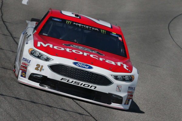Monster Energy NASCAR Cup Series Toyota Owners 400 Richmond International Raceway, Richmond, VA USA Friday 28 April 2017 Ryan Blaney, Wood Brothers Racing, Motorcraft/Quick Lane Tire & Auto Center Ford Fusion World Copyright: Matthew T. Thacker LAT Images ref: Digital Image 17RIC1mt1008