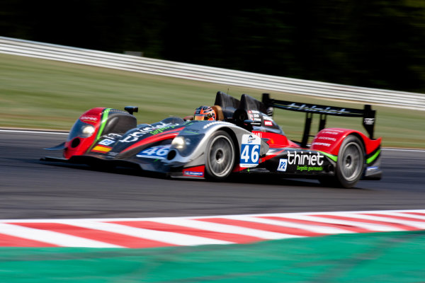 Spa Francorchamps, Spa, Belgium.5th - 7th May 2011LMP2. Mathias Beche (CHE), Pierre Thiriet (FRA), Jody Firth (GBR). LMS. TDS Racing. Oreca 03-Nissan. World Copyright: Malcolm Griffiths/LAT Photographicref: Digital Image _H0Y5977