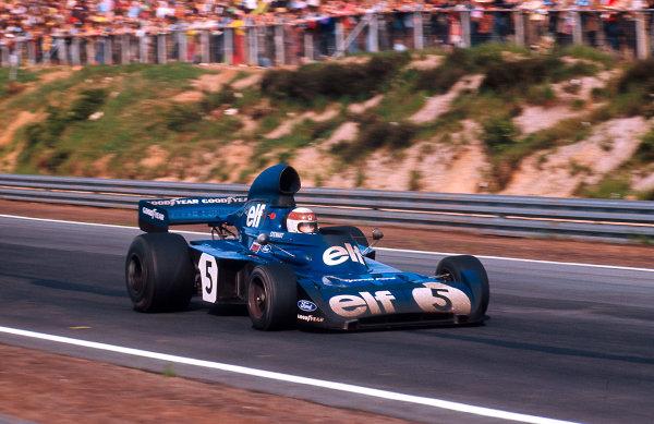 1973 Belgian Grand Prix.Zolder, Belgium.18-20 May 1973.Jackie Stewart (Tyrrell 006 Ford) 1st position.Ref-73 BEL 09.World Copyright - LAT Photographic