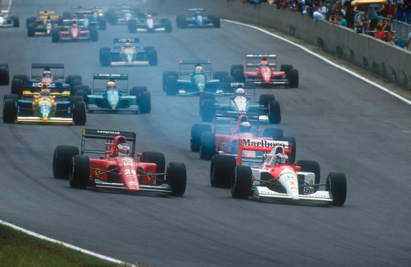1991 Brazilian Grand Prix.