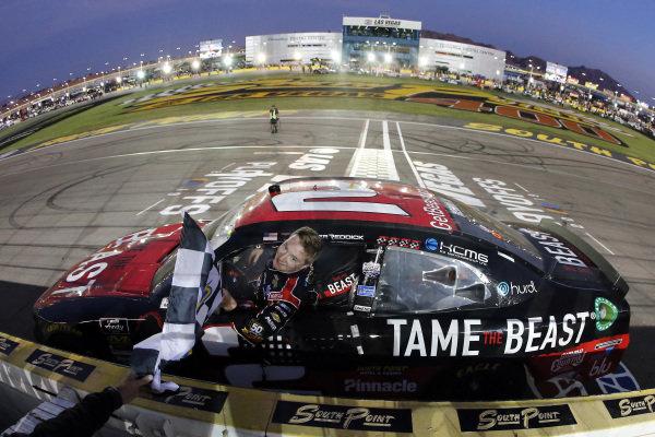 #2: Tyler Reddick, Richard Childress Racing, Chevrolet Camaro TAME the BEAST celebrates his win