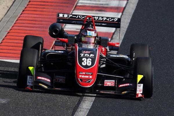 Round 19 winner Ritomo Miyata, Corolla Chukyo Kuo TOM'S, Dallara F317 Toyota