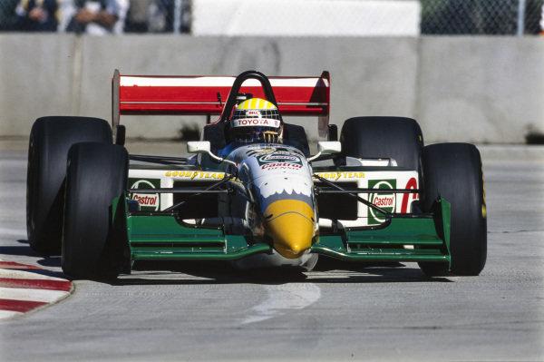 Alex Barron, All American Racing, Reynard 98i Toyota.