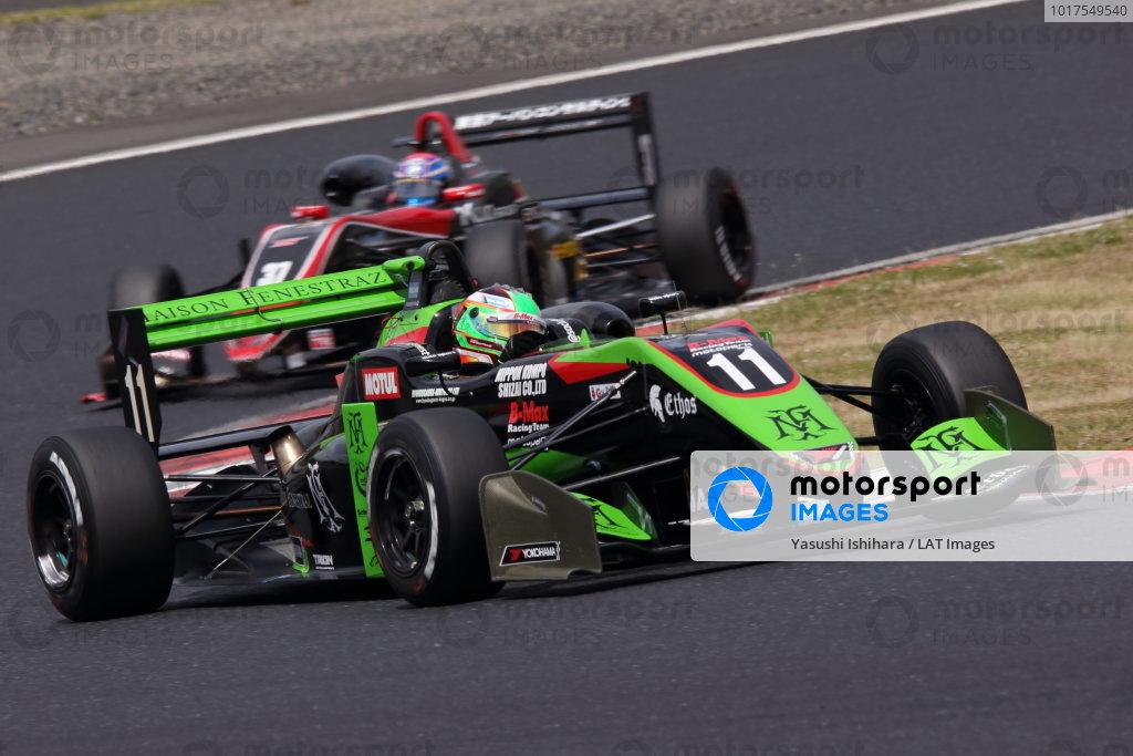 Round 7. Sacha Fenestraz, B-Max Racing with Motopark Dallara F314 Volkswagen, 2nd. Photo by Masahide Kamio
