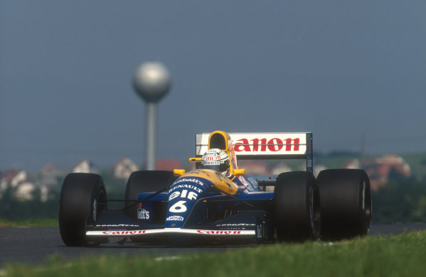 1991 Hungarian Grand Prix.