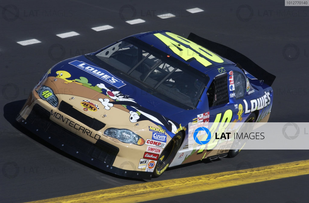 2002 NASCAR,Richmond Intl. Raceway,Sept 06-07, 20022002 NASCAR, Richmond,Va . USA -Jimmie Johnson theme carCopyright-Robt LeSieur2002LAT Photographic