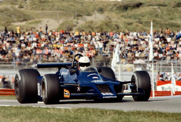 1979 Dutch Grand Prix.Zandvoort, Holland.24-26 August 1979.Elio de Angelis (Shadow DN9 Ford).Ref-79 HOL 19.World Copyright - LAT Photographic