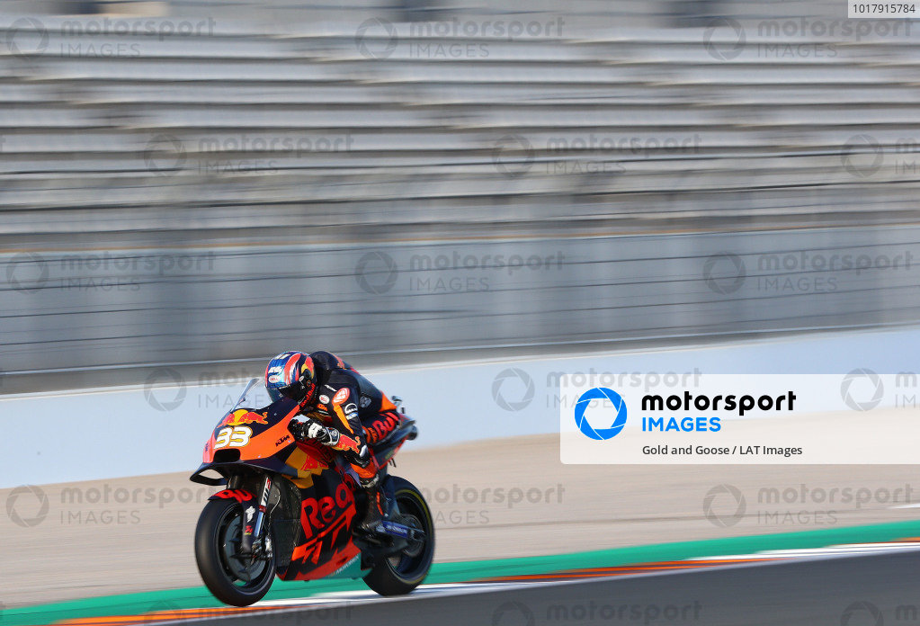 Brad Binder, Red Bull KTM Factory Racing.