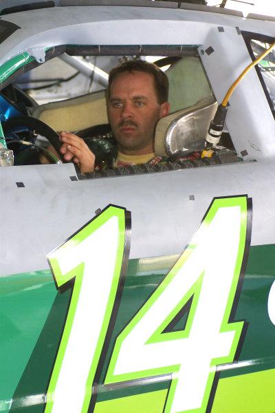 2002 NASCAR Cup TestingDaytona, Florida, USA. 7th January 2002.The No. 14 Car of Stacy Compton, portrait.World Copyright: Greg Aleck/LAT Photographicref: Digital Image Only