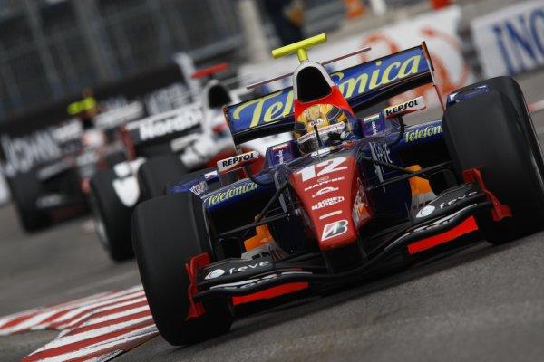 2008 GP2 Series. Round 3. Saturday Race. Monte-Carlo, Monaco. 24th May 2008.Giorgio Pantano (ITA, Racing Engineering). Action. World Copyright: Andrew Ferraro/GP2 Series Media Service.ref:__H0Y6311 jpg