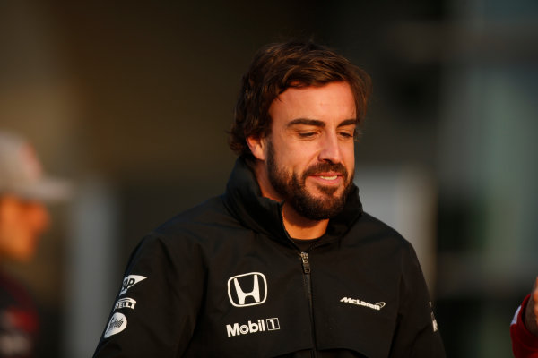 Shanghai International Circuit, Shanghai, China. Friday 10 April 2015. Fernando Alonso, McLaren. World Copyright: Glenn Dunbar/LAT Photographic. ref: Digital Image _W2Q2964