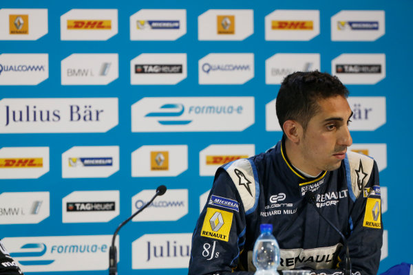 2014/2015 FIA Formula E Championship.  Moscow e-Prix, Moscow, Russia. Saturday 6 June 2015. Sebastien Buemi (SWI)/E.dams Renault - Spark-Renault SRT_01E  Photo: Sam Bloxham/LAT/Formula E ref: Digital Image _SBL5965