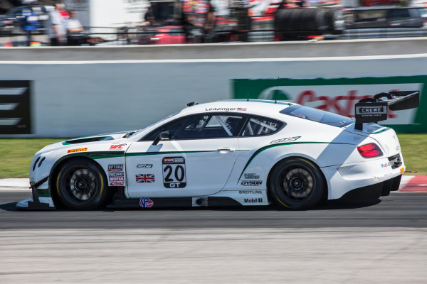 15-17 May 2015, Bowmanville, Ontario Canada Butch Leitzinger, #20 Bentley Continental GT3 ?2015, Brian Cleary LAT Photo USA